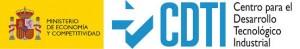 logo CDTI + ministerio