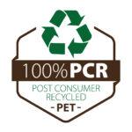 Material reciclado botellas de plástico PET