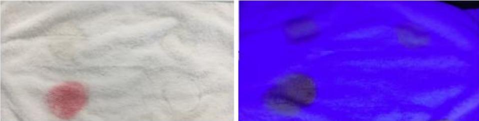 como lavar manchas de crema solar