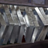 Hot dip galvanizing process of steel