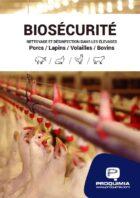 Biosécurité, nettoyage et désinfection dans les élevages