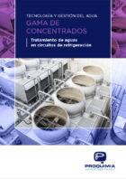 Catálogo Tecnología y Gestión del Agua-Gama de Concentrados